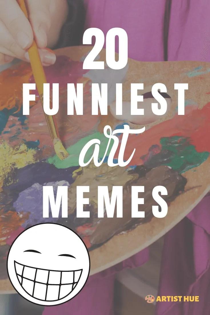 20 most relatable art memes 1