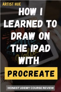 How I learned to draw on iPad with Procreate