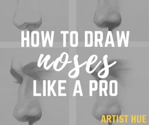 How to draw noses like a PRO? 5