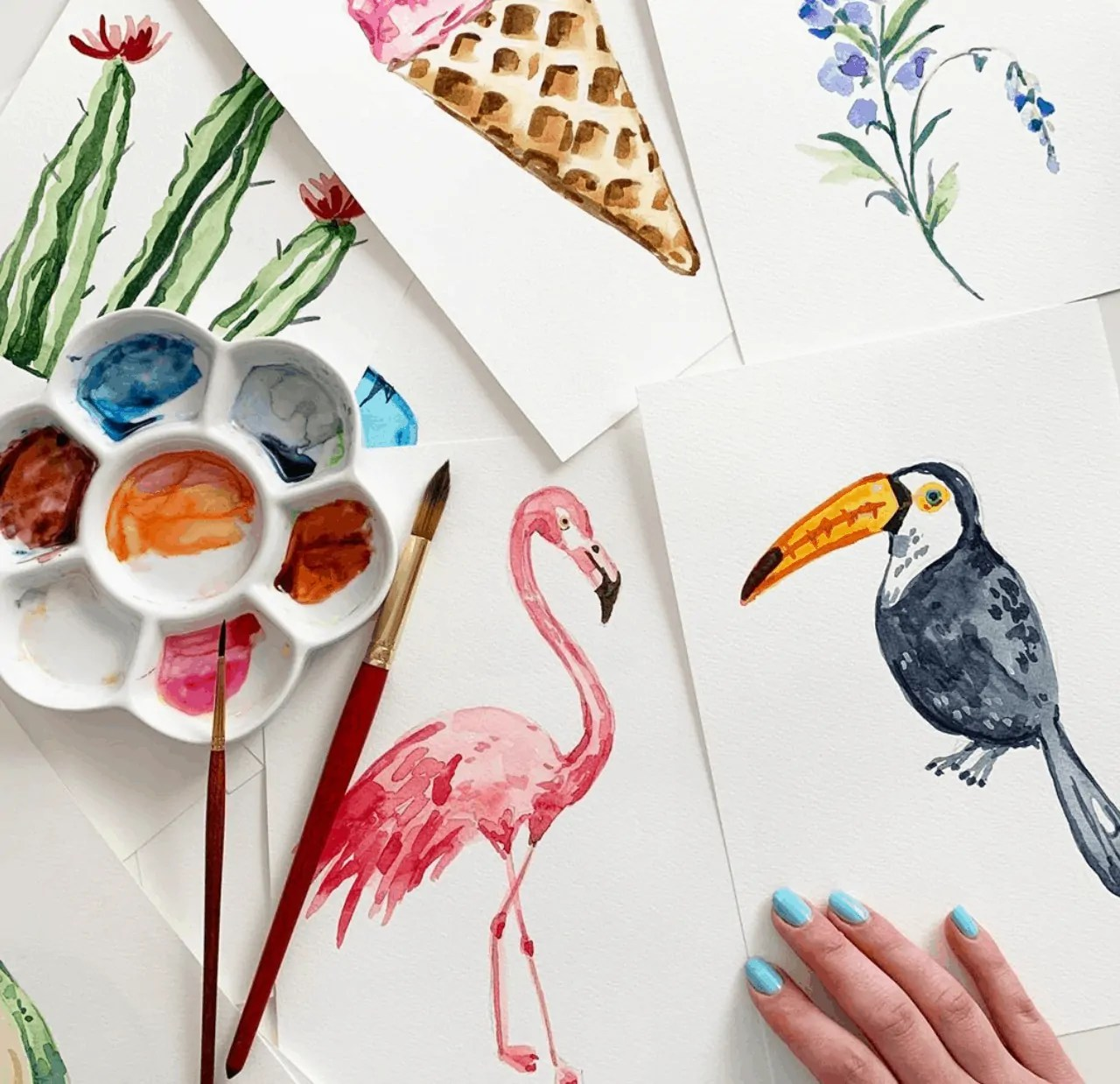 watercolor painting ideas