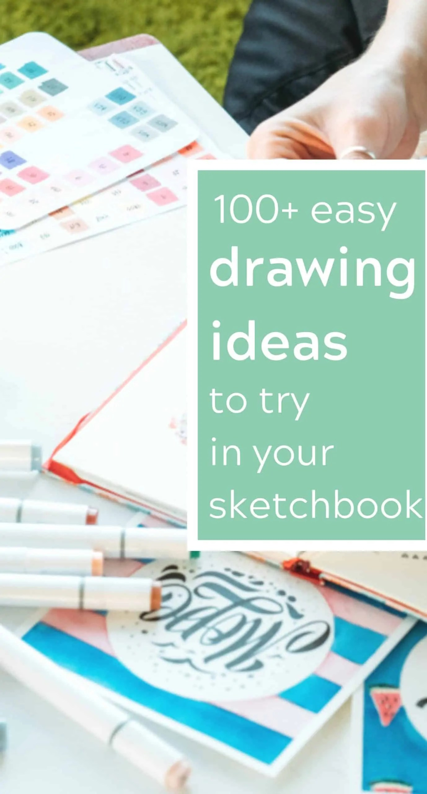 Drawing Prompt Ideas to fill your sketchbook