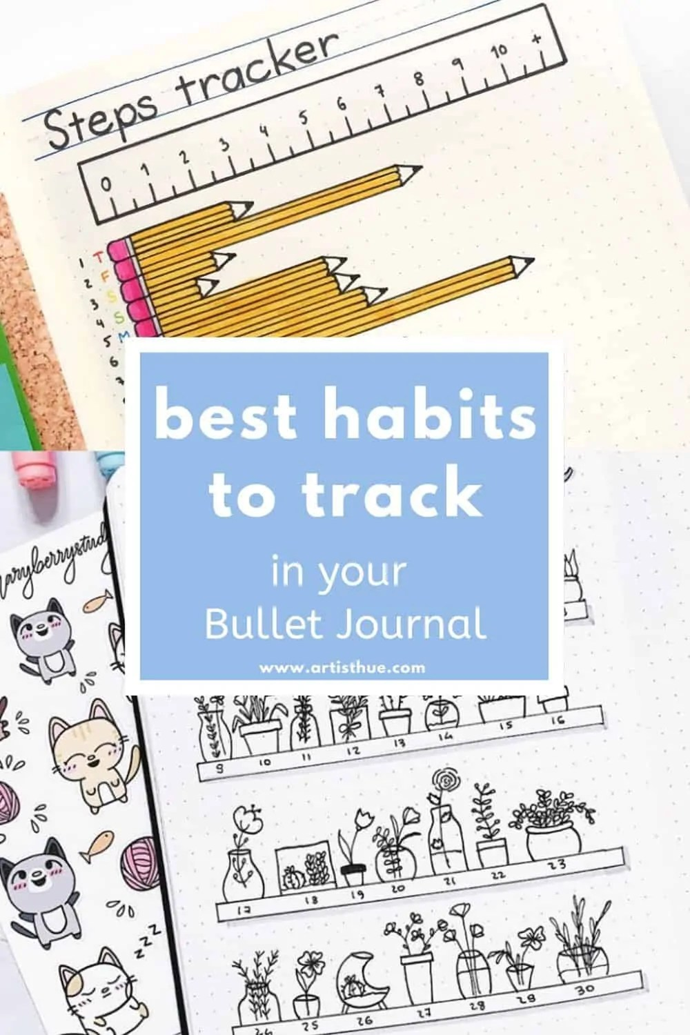 Habit Tracker Bullet Journal Ideas 3