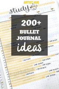 200+ bullet journal ideas 5
