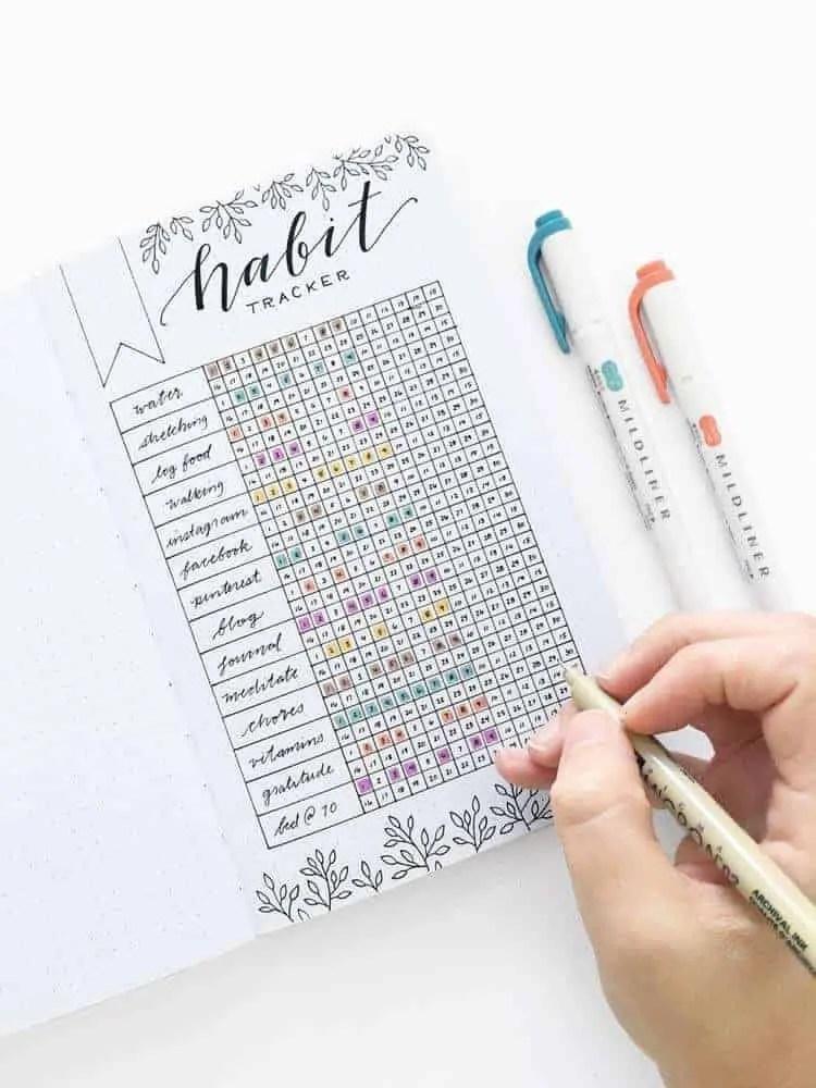 Bullet-Journal-Layout-Ideas-Organized-18-1 5