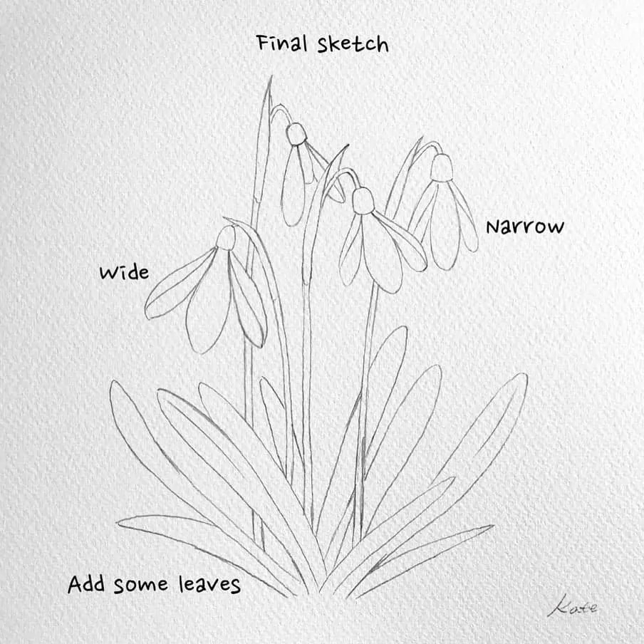 How to draw flowers for beginners? 105