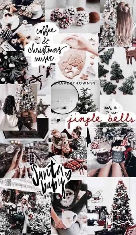26+ trendy aesthetic christmas wallpaper collage 5