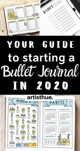 how to start a bullet journal 2020