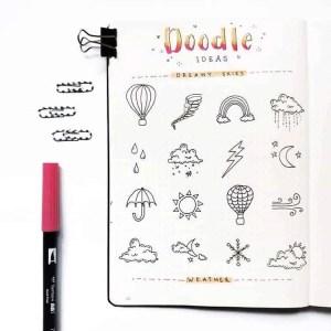 Cute Weather Doodles