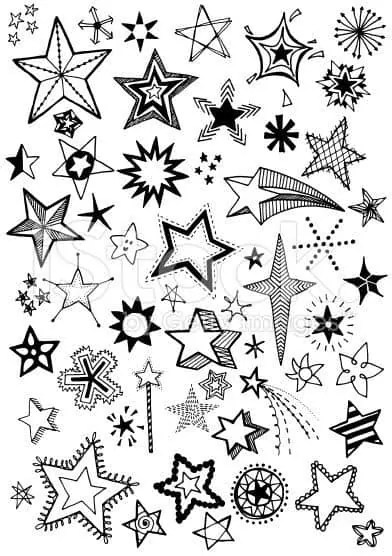 Stars Doodles