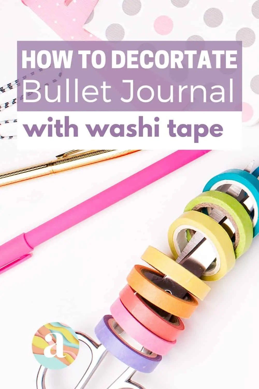 40 Creative Bullet Journal Washi Tape Ideas 12