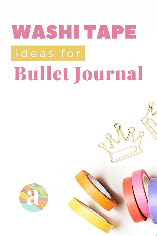 40 Creative Bullet Journal Washi Tape Ideas 10