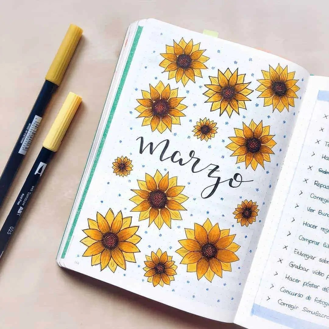 March Bullet Journal Monthly Ideas 3