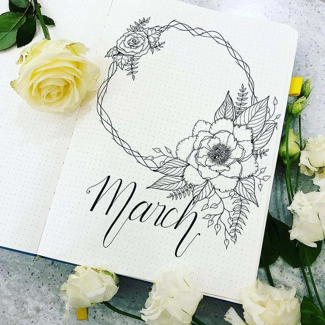 March Bullet Journal Monthly Ideas 25