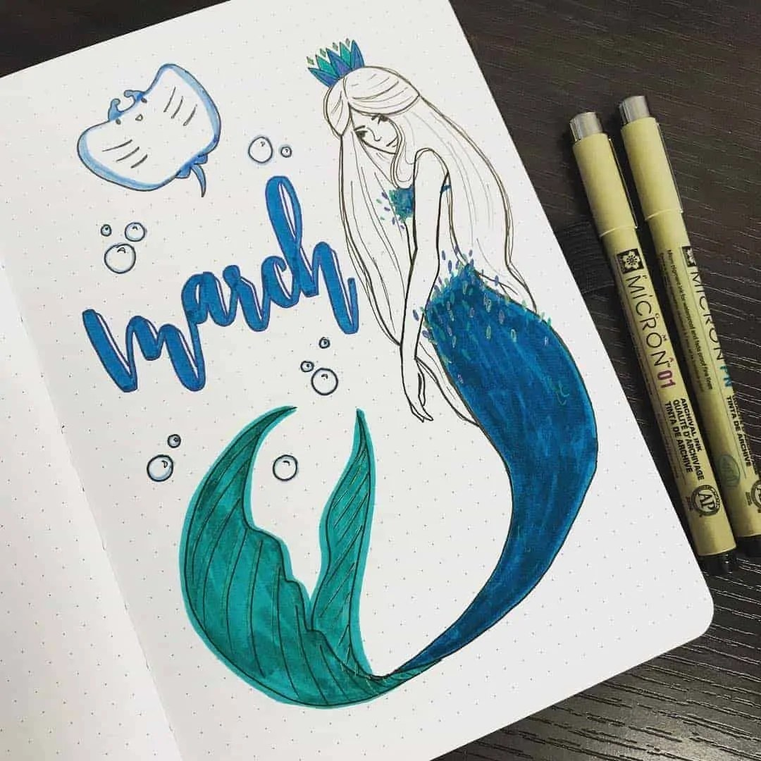 March Bullet Journal Monthly Ideas 27