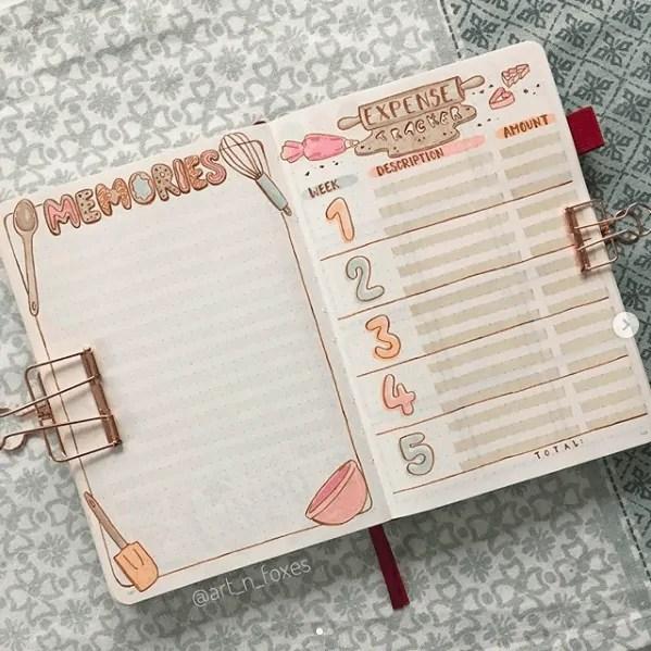 Bullet Journal Header