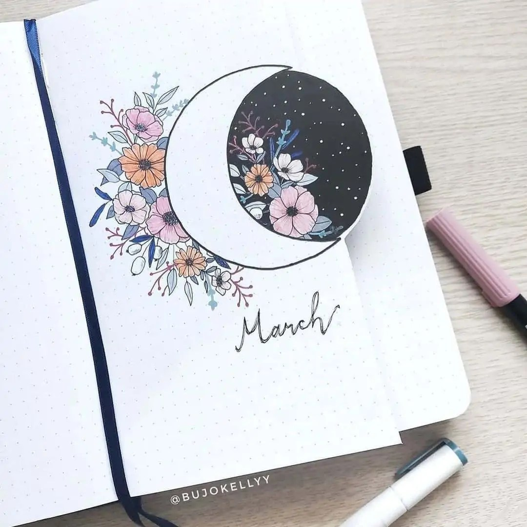 March Bullet Journal Monthly Ideas 53