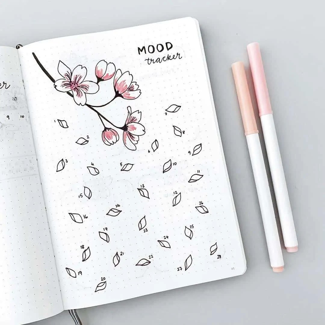 Bullet Journal Mood Tracker Ideas 10