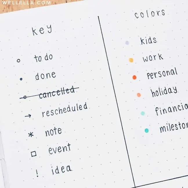 11 bullet journal hacks 1