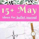Bullet Journal May Ideas 9