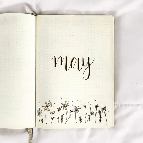 Bullet Journal May Ideas 42