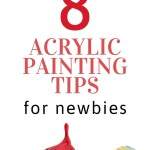 8 Acrylic Painting Tips for Beginner 1