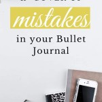 5 Ways to Fix Mistakes in Bullet Journal 7