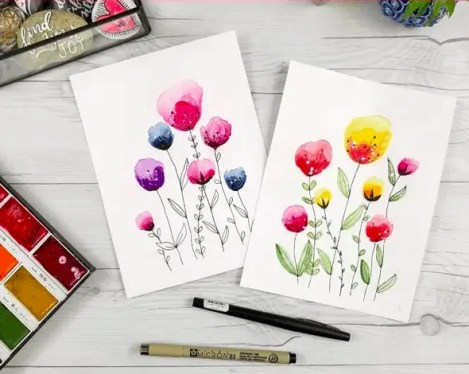 10 Ideas for Your Next Watercolor Painting 22
