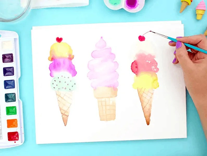 10 Ideas for Your Next Watercolor Painting 53