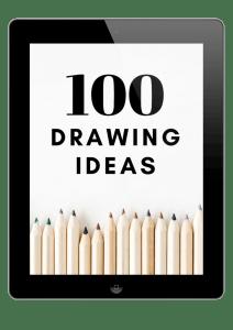 100 drawing ideas