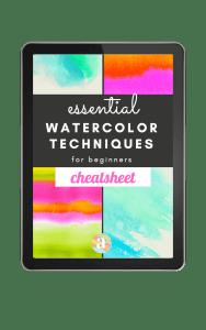 Watercolor Basic Techniques
