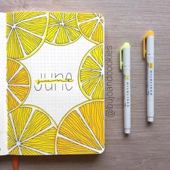 Bullet Journal June: Ideas and Inspiration 66