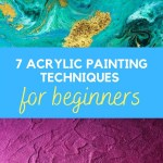 acrylic techniques for beginners