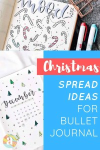 Christmas bullet journal