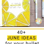 Bullet Journal June: Ideas and Inspiration 5