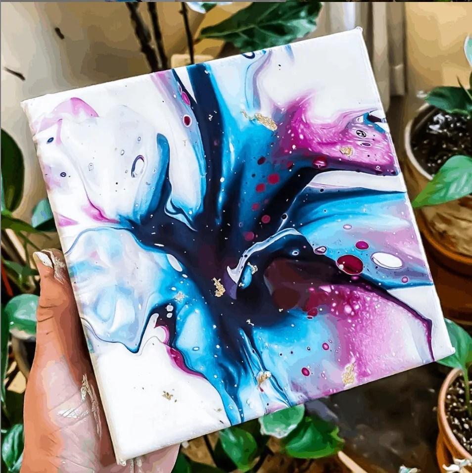 acrylic pour Inspo
