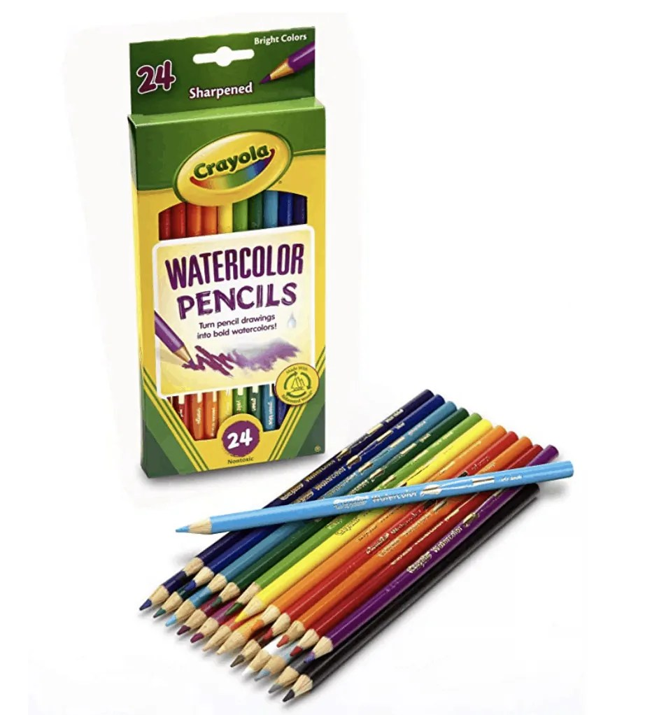 Crayola Watercolor Pencils