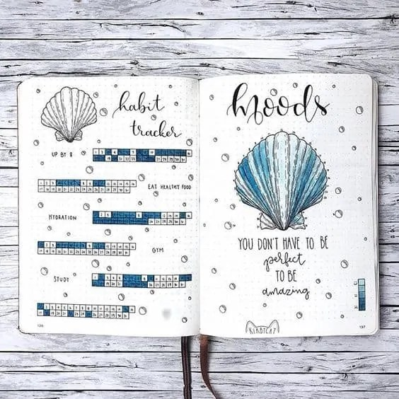 Bullet Journal June: Ideas and Inspiration 48