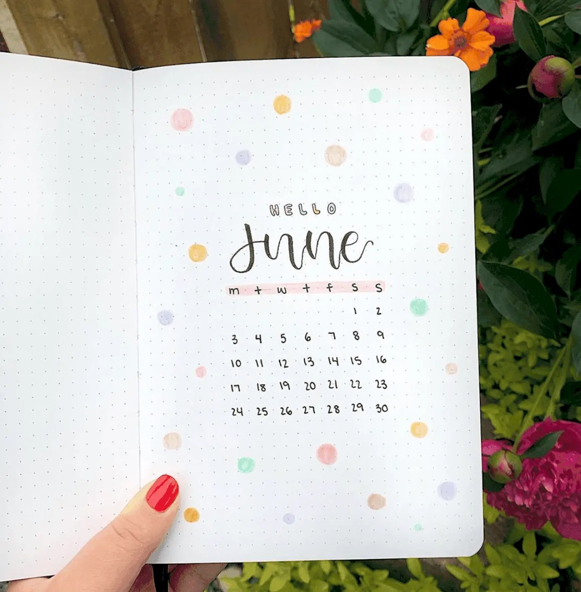 Bullet Journal June: Ideas and Inspiration 22