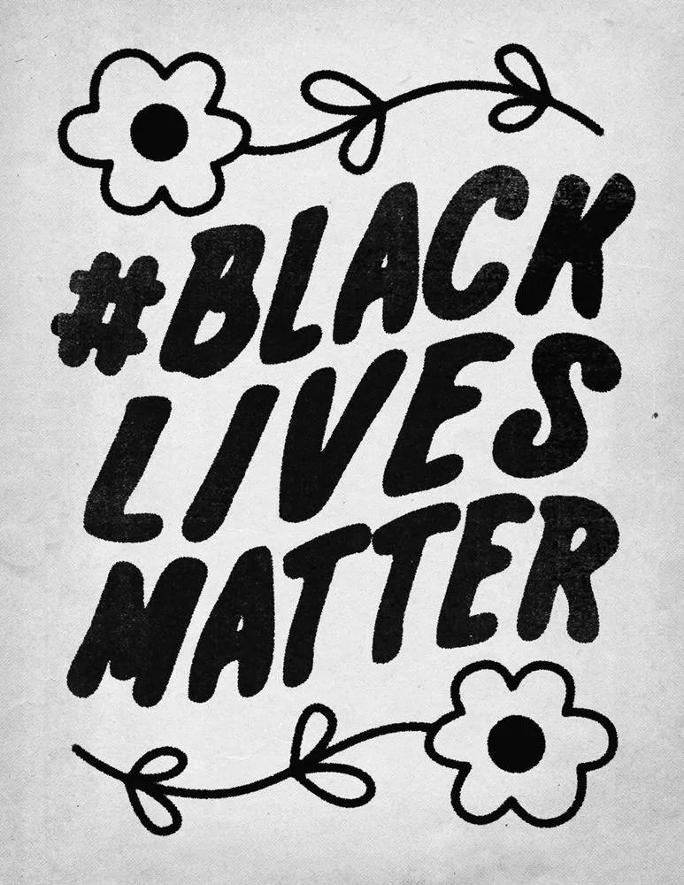 Black Lives Matter Art - Artist Showing their Support for the movement Through Art 15
