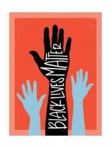 'Black Lives Matter - Hands' Art Print - Emily Rasmussen | Art_com 5