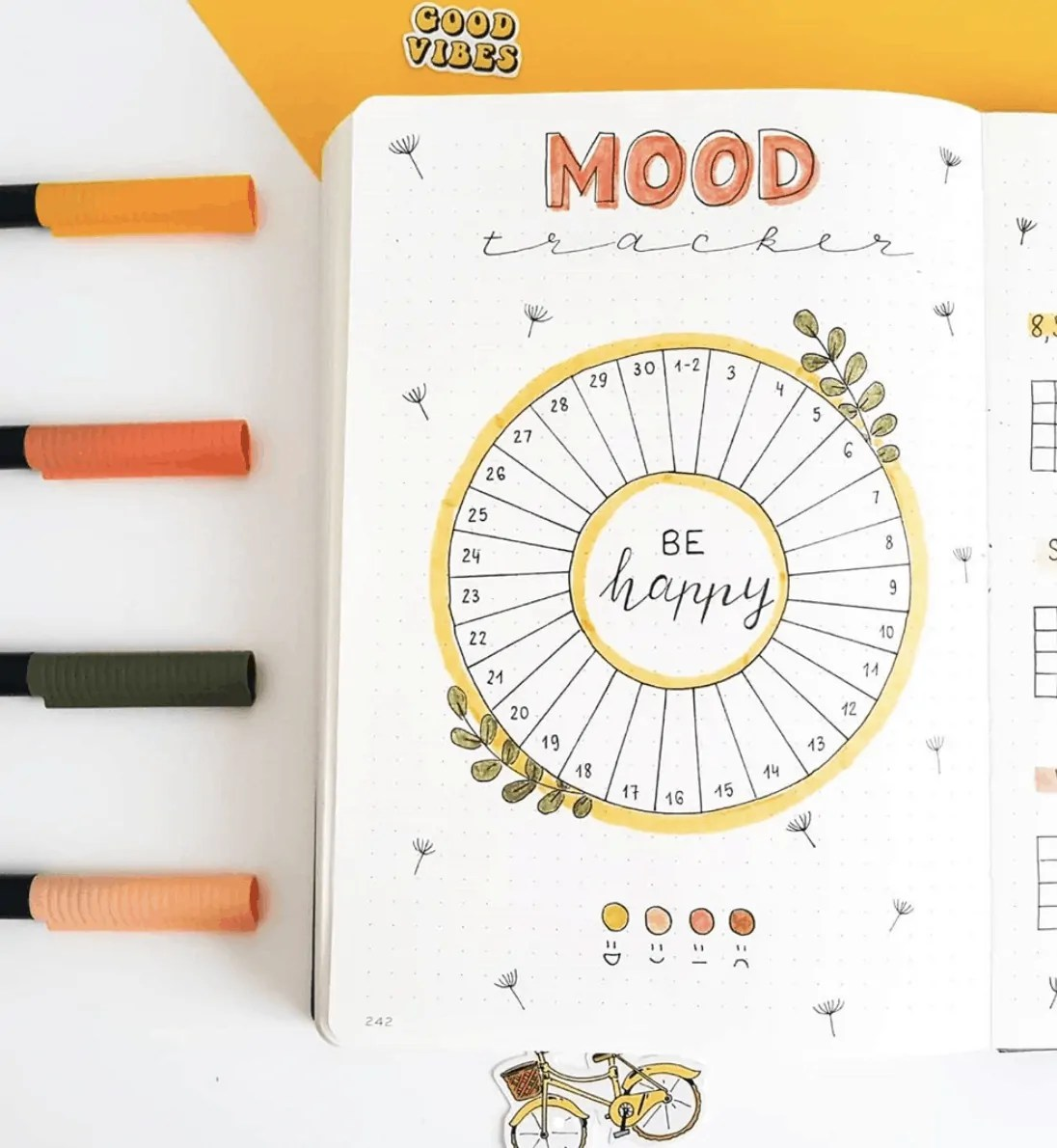 Bullet Journal Spread Ideas for Every Month of the Year 43