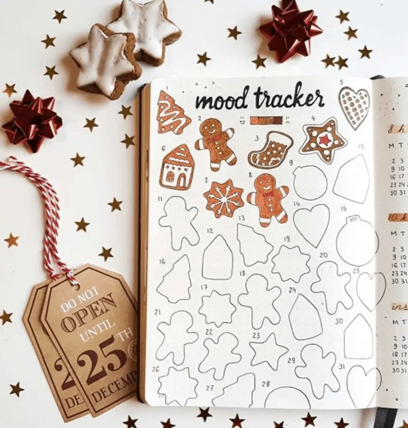 Bullet Journal Spread Ideas for Every Month of the Year 89
