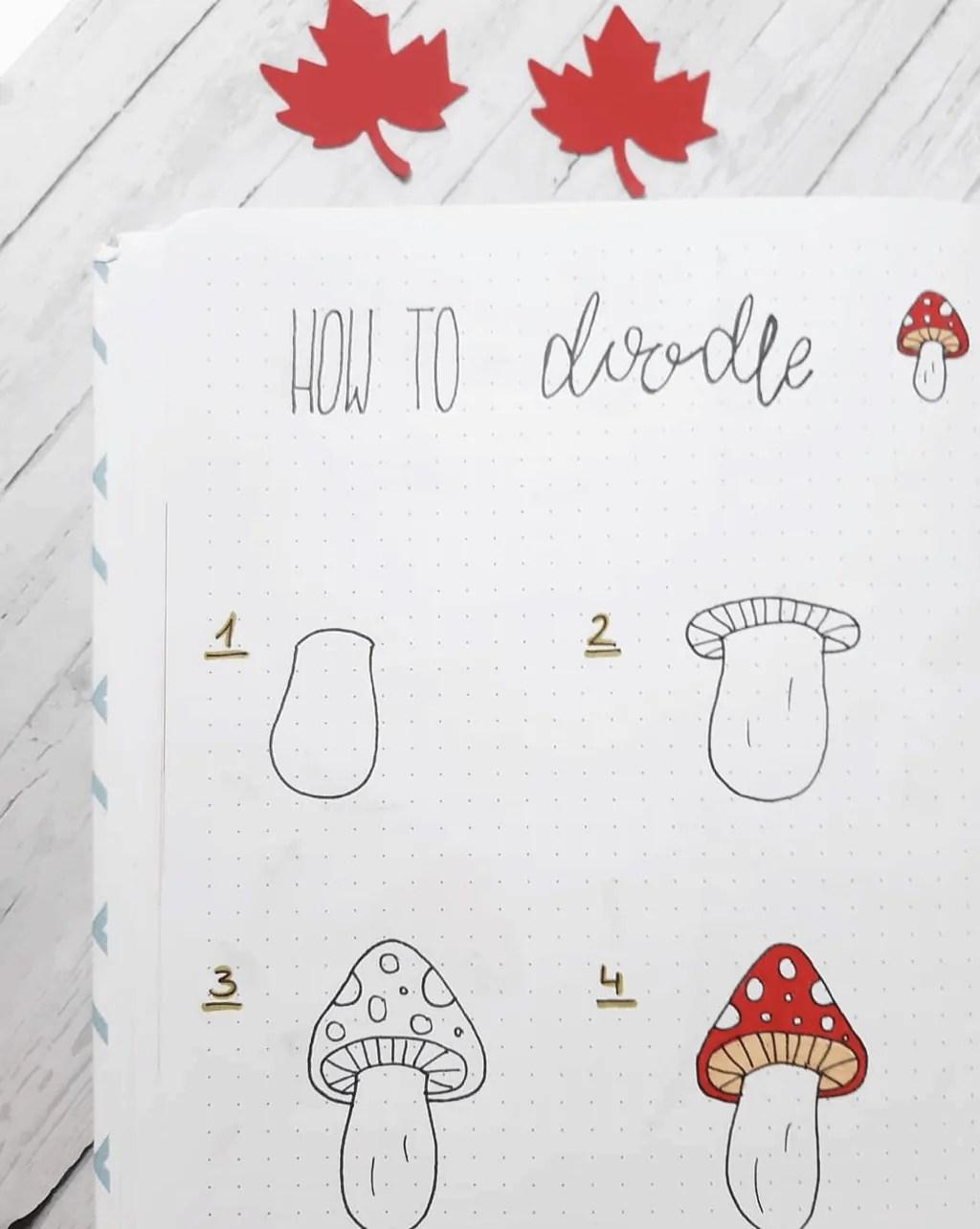100 Bullet Journal Fall Doodles Halloween Ideas 17