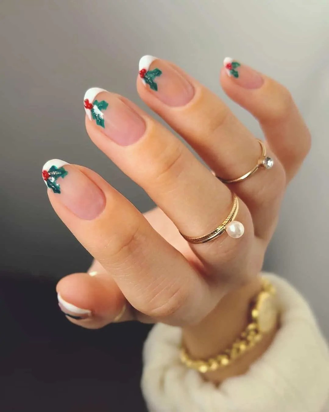15+ Christmas Nail Ideas You Must See! 15