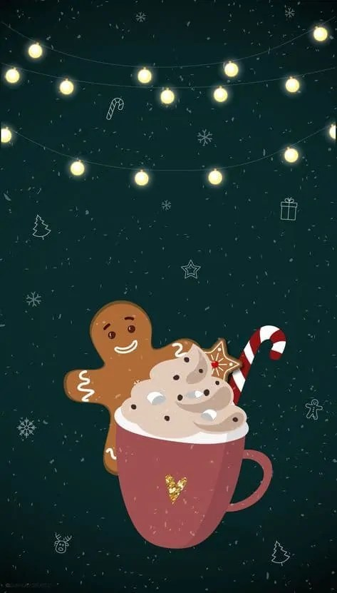 21+ Christmas iPhone Wallpapers you must SEE! 61