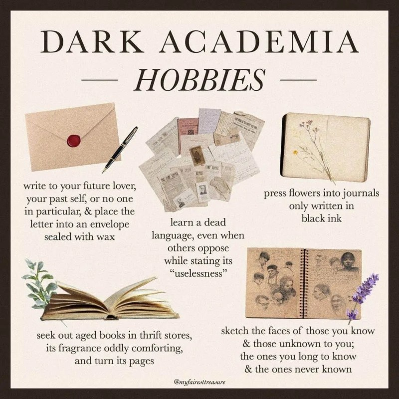 Dark Academia: style, books, and the rest of must-know things! 33