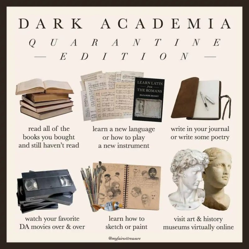 Dark Academia: style, books, and the rest of must-know things! 93