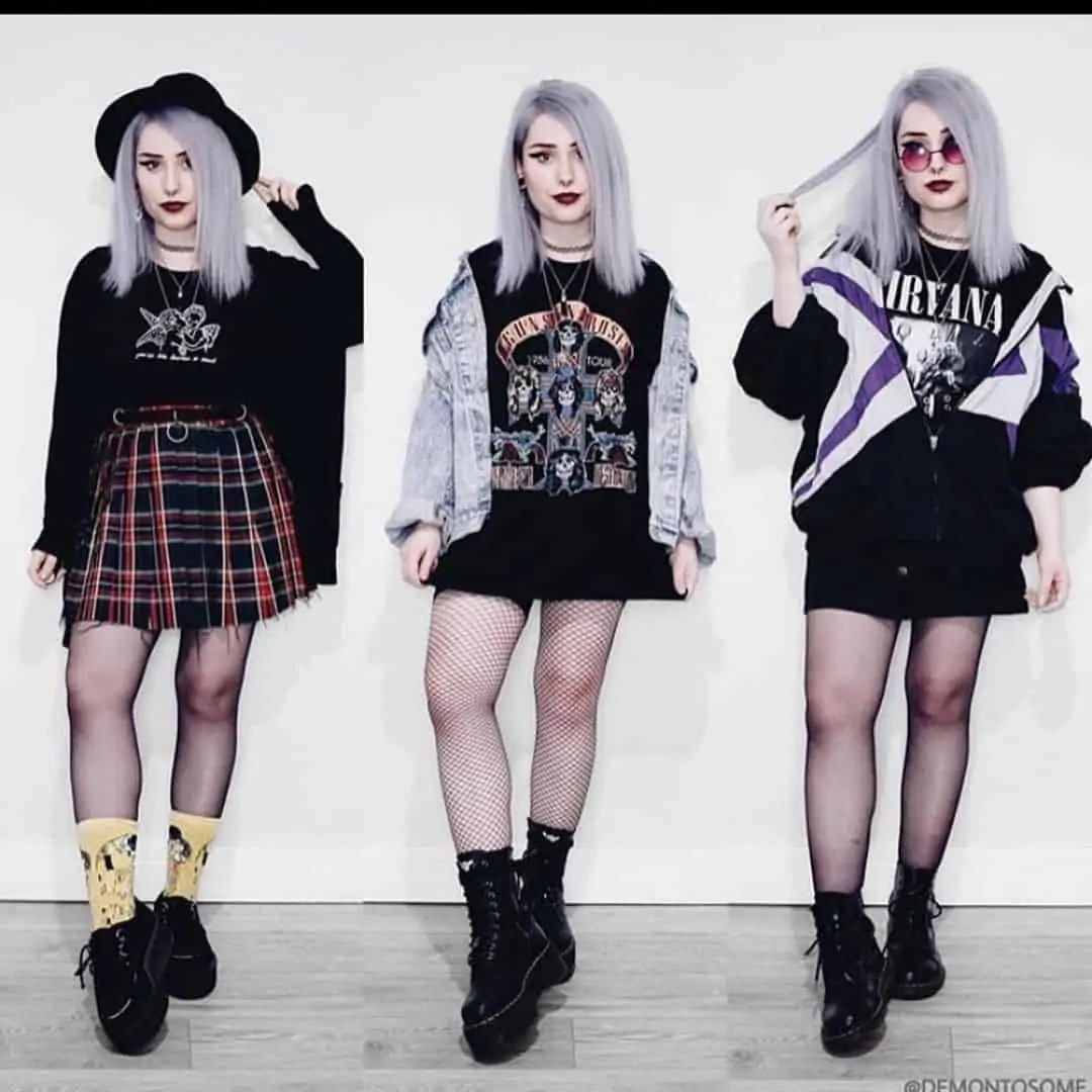 50+ Grunge Outfits that will Inspire you! 29