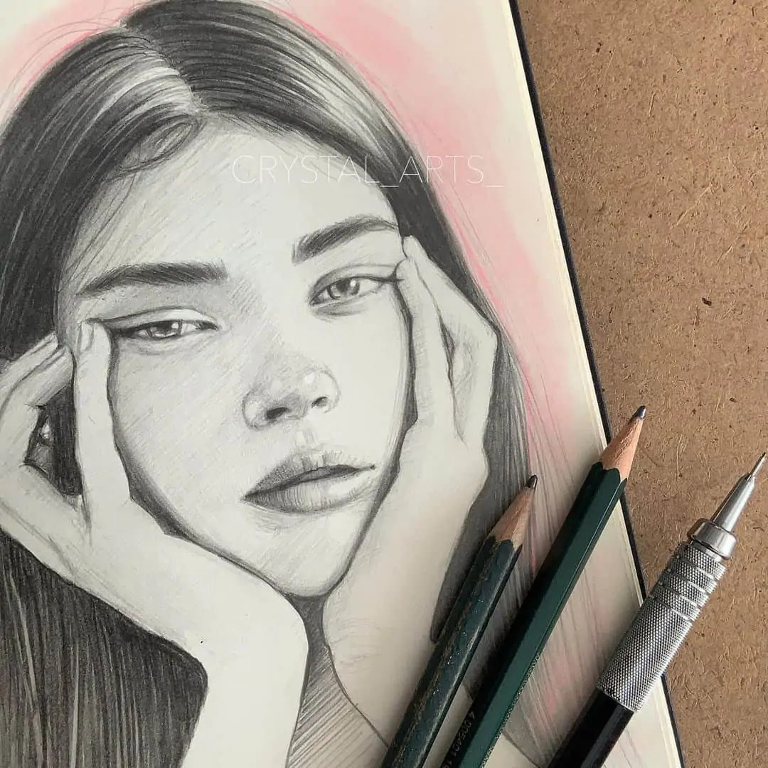 100+ Stunning Realistic Portrait Drawings 201