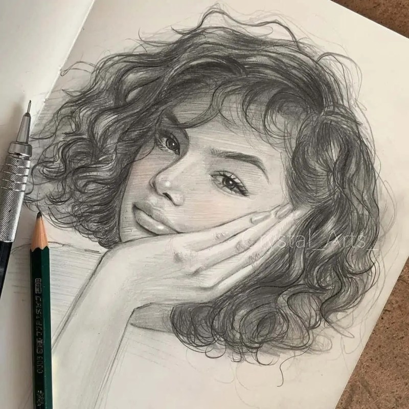 100+ Stunning Realistic Portrait Drawings 5